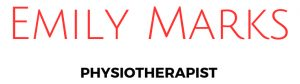 Emily Marks Physiotherapist