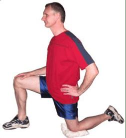 Fig 2 Kneeling Lunge