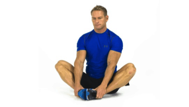 Fig 3 Butterfly Stretch