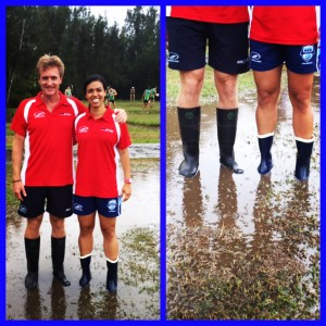 Steve and Steff NSW Touch Football State Cup 2014