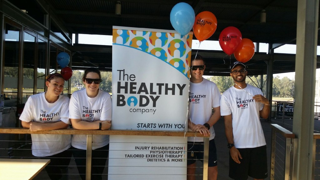 Physiotherapy at the Western Sydney Marathon