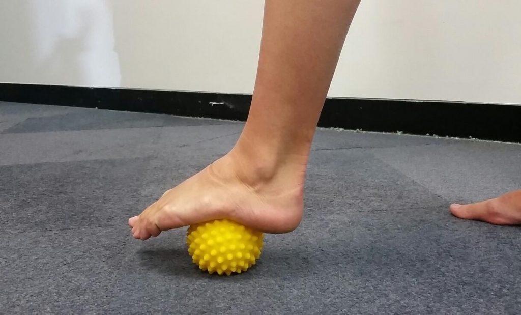 Foot fascia release