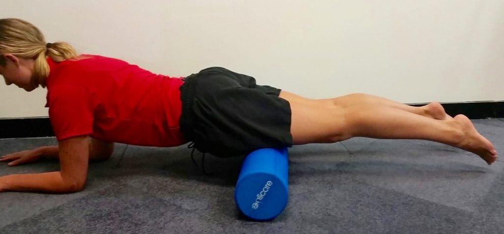 Physio foam roller muscle release