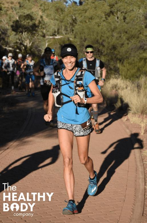 trail running kristen brace