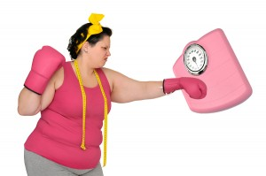 Dietician and weighing