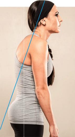 Text neck pain poor posture